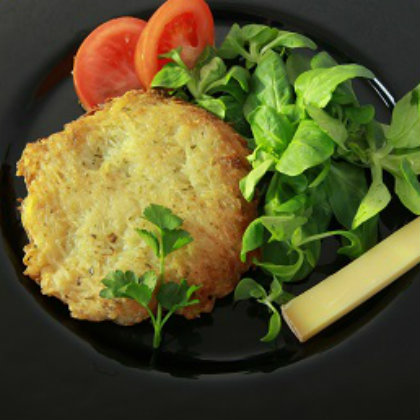 Potato Galettes with Comté