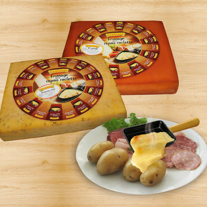 Fromages pour repas raclette